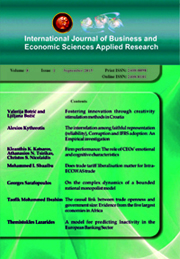 International Journal of Business and Economic Sciences Applied Research
