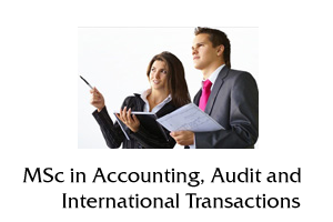 MSc in Accounting, Audit and International Transactions