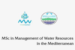 MSc in Management of Water Resources in the Mediterranean